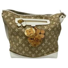 Louis Vuitton Besace Monogram Bag with Calfskin Trims