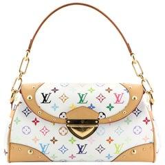 Louis Vuitton Beverly Handbag Monogram Multicolor MM