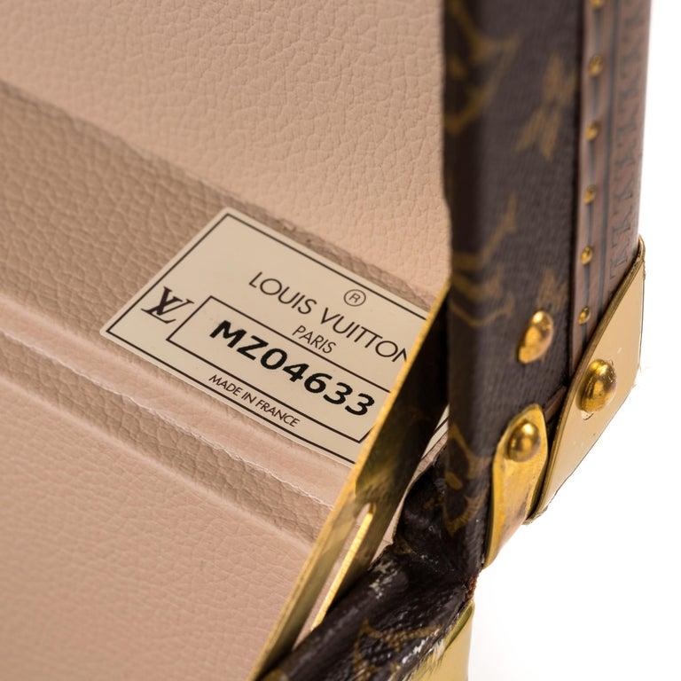 Louis Vuitton Bisten Suitcase 65 Monogram with Stickers For Sale 4