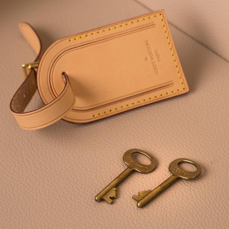 Louis Vuitton Bisten Suitcase 65 Monogram with Stickers For Sale 5