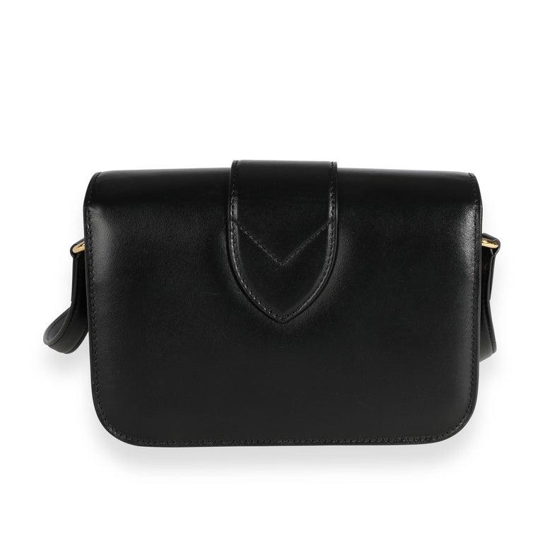 Women's Louis Vuitton Black Calfskin LV Pont 9 For Sale