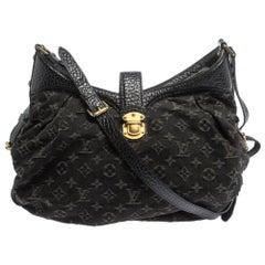Louis Vuitton Black Denim Mahina XS Bag