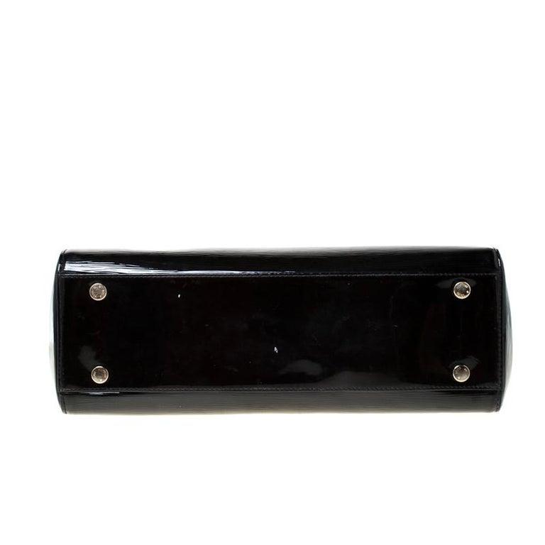 Louis Vuitton Black Electric Epi Leather Brea GM Bag For Sale 1