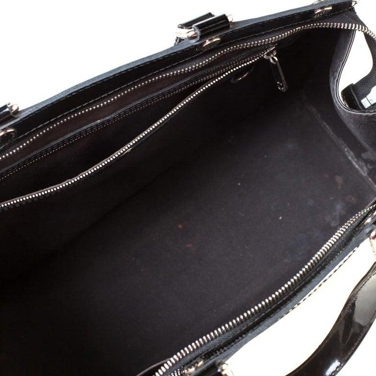 Louis Vuitton Black Electric Epi Leather Brea GM Bag For Sale 3