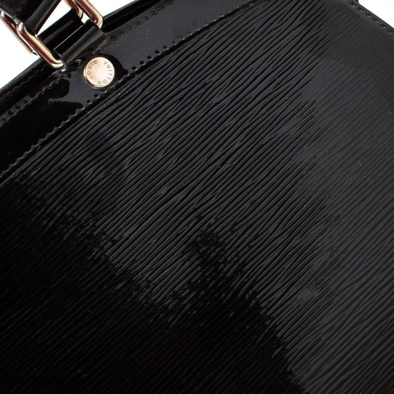 Louis Vuitton Black Electric Epi Leather Brea GM Bag For Sale 4