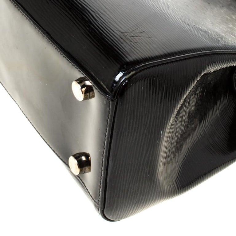 Louis Vuitton Black Electric Epi Leather Brea GM Bag For Sale 5