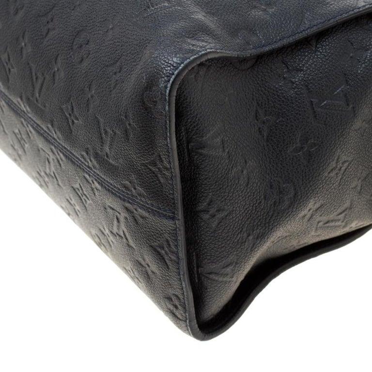 Louis Vuitton Black Empreinte Leather Lumineuse PM Bag For Sale 6