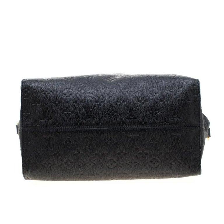 Louis Vuitton Black Empreinte Leather Lumineuse PM Bag For Sale 1