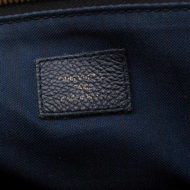 Louis Vuitton Black Empreinte Leather Lumineuse PM Bag For Sale 5
