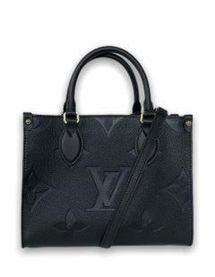 Louis Vuitton Black Empreinte Monogram Giant Onthego PM Crossbody Bag