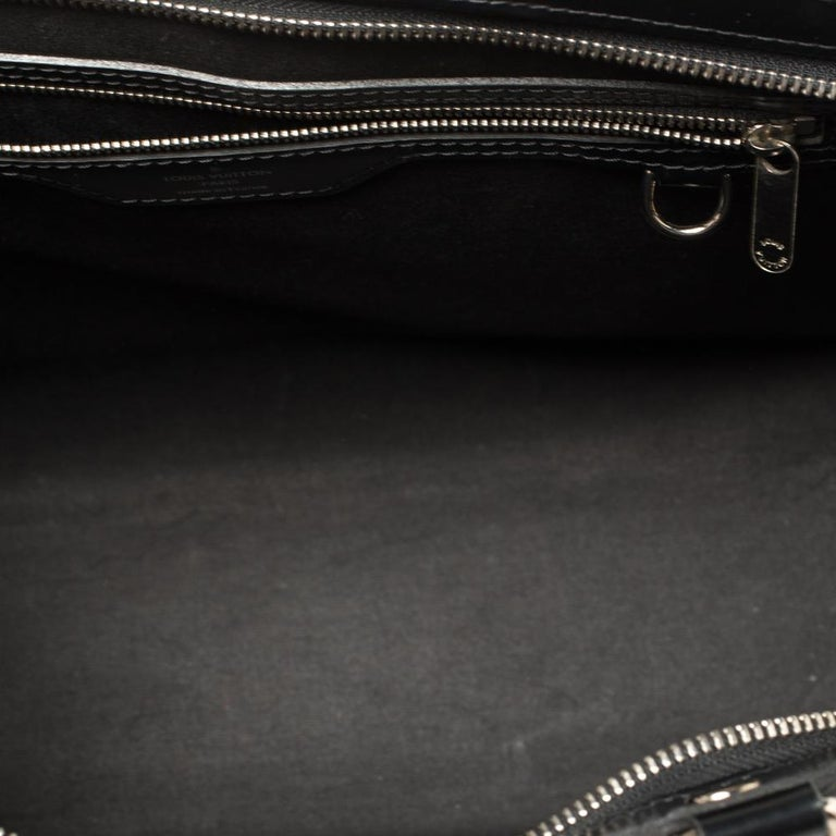 Louis Vuitton Black Epi Leather Brea GM Bag For Sale 6