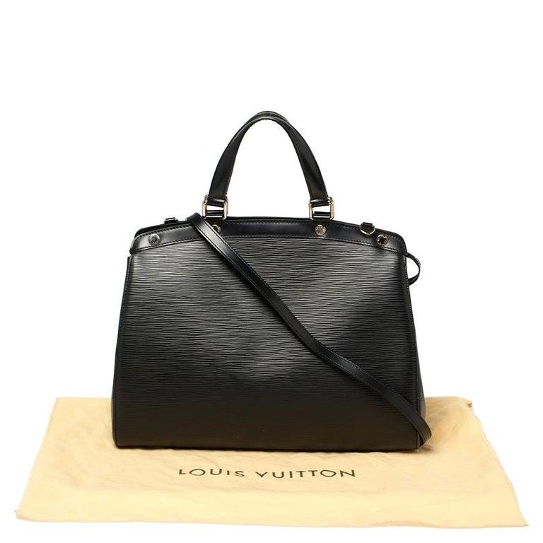 Louis Vuitton Black Epi Leather Brea GM Bag For Sale 8