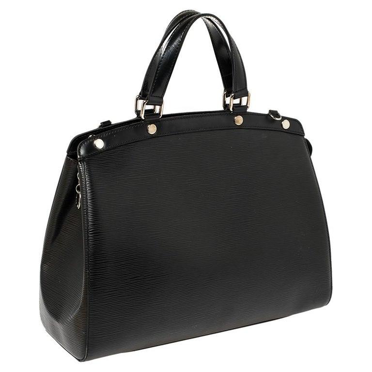 Women's Louis Vuitton Black Epi Leather Brea GM Bag For Sale