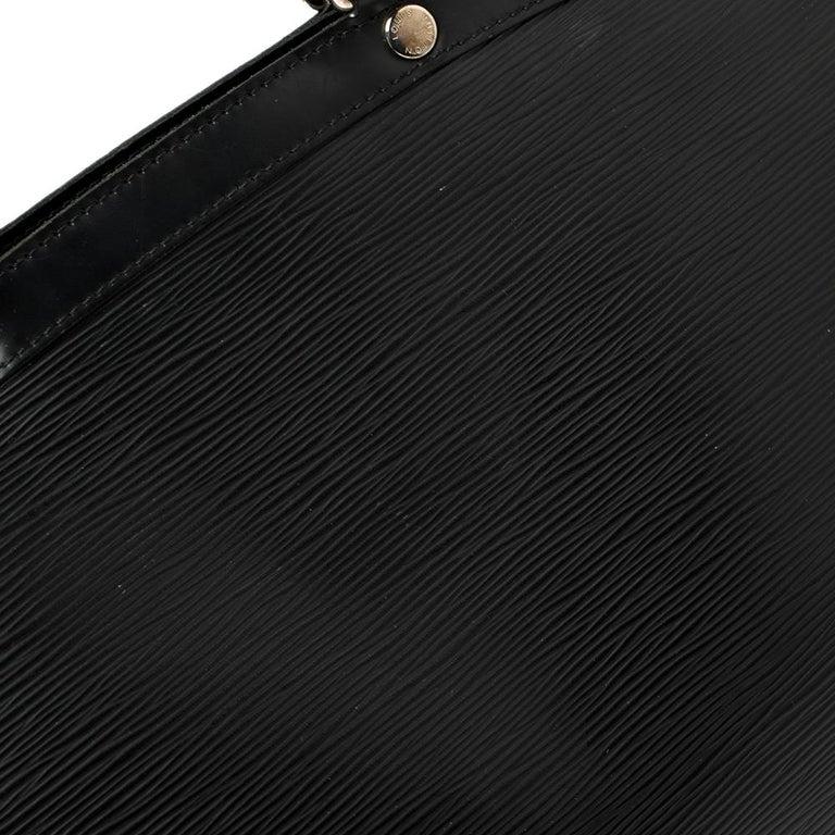 Louis Vuitton Black Epi Leather Brea GM Bag For Sale 1
