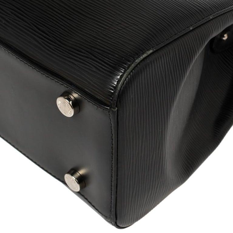 Louis Vuitton Black Epi Leather Brea GM Bag For Sale 2