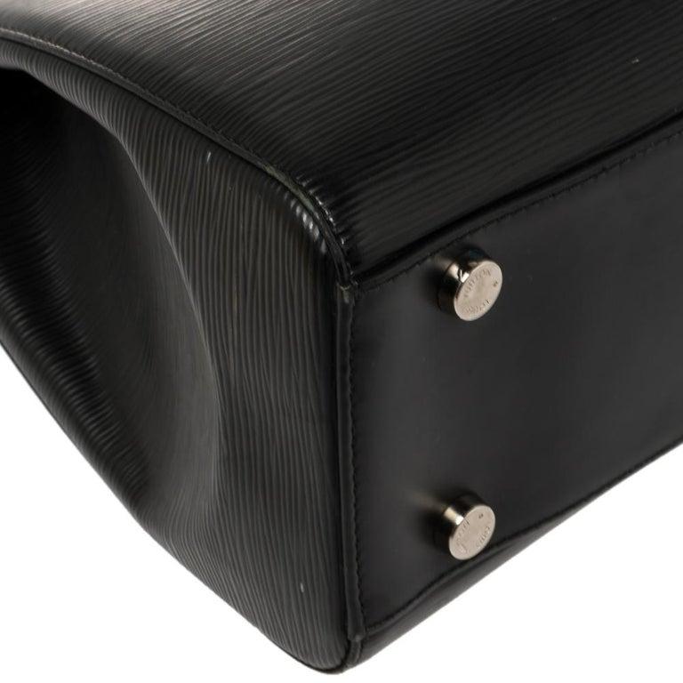 Louis Vuitton Black Epi Leather Brea GM Bag For Sale 4