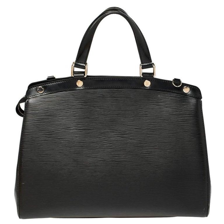 Louis Vuitton Black Epi Leather Brea GM Bag For Sale