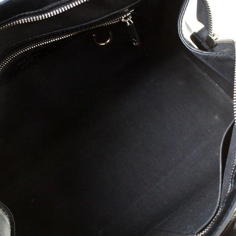 Louis Vuitton Black Epi Leather Brea MM Bag For Sale 1