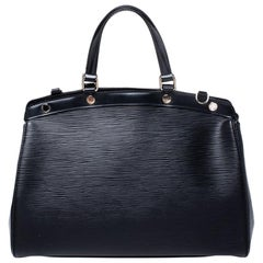 Louis Vuitton Black Epi Leather Brea MM Bag