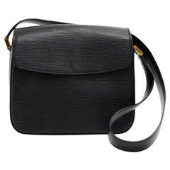 Louis Vuitton Black Epi Leather Byushi Bag