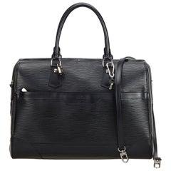Louis Vuitton Black Epi Leather Leather Epi Bourget Spain