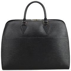 Louis Vuitton Black Epi Leather Leather Epi Sorbonne France