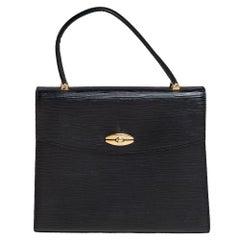 Louis Vuitton Black Epi Leather Malesherbes Bag