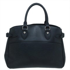 Louis Vuitton Black Epi Leather Passy PM Bag