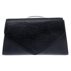 Louis Vuitton Black Epi Leather Pochette