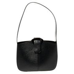 Louis Vuitton Black Epi Leather Reverie Bag