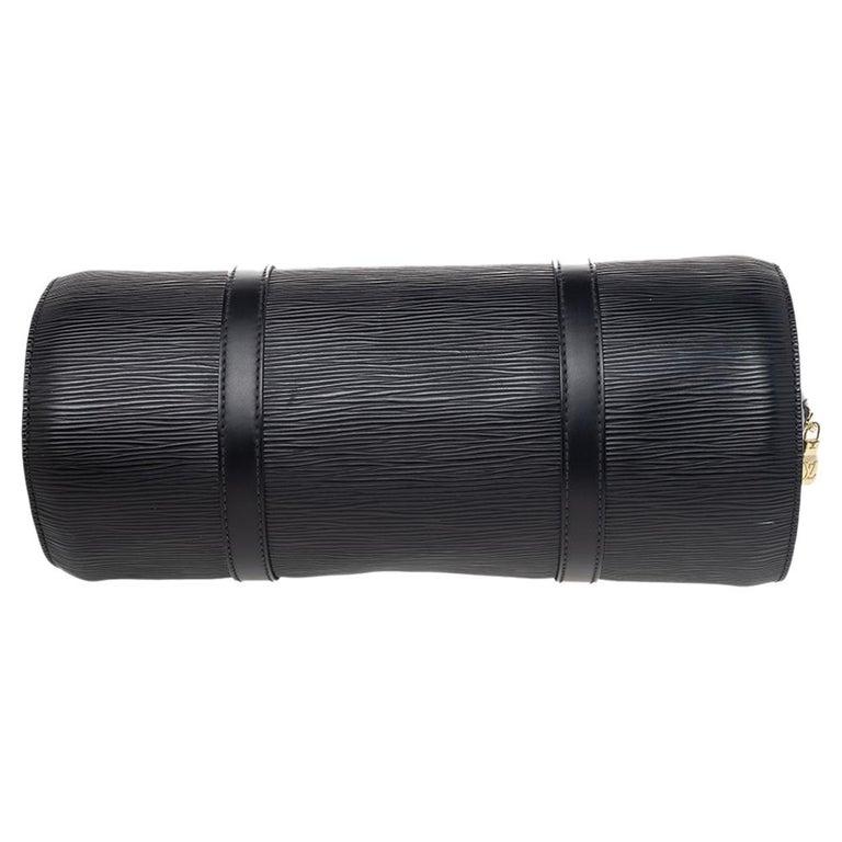 Louis Vuitton Black Epi Leather Soufflot Bag For Sale 1