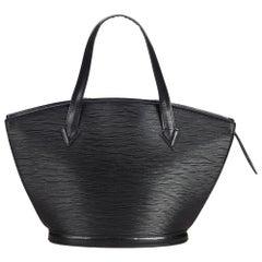 Louis Vuitton Black Epi Saint Jacques PM Tote