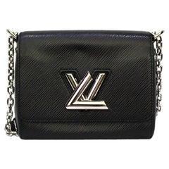 Louis Vuitton Black Epi Twist PM Bag