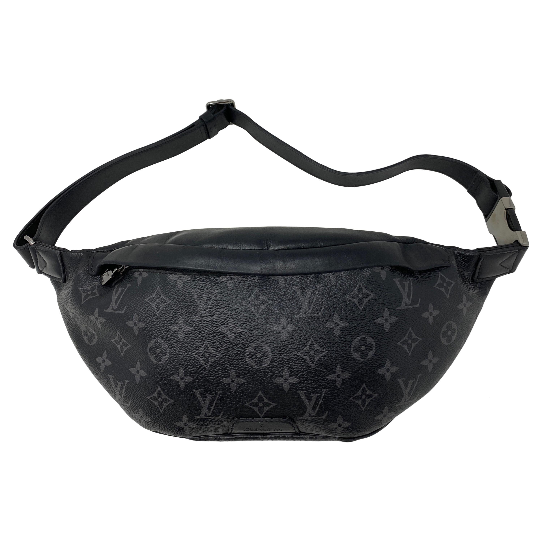 Louis Vuitton Black Monogram Bum Bag