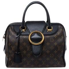 Louis Vuitton Black Monogram Canvas and Leather Limited Edition Golden Arrow Spe