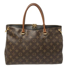 Louis Vuitton Black Monogram Canvas Pallas Bag