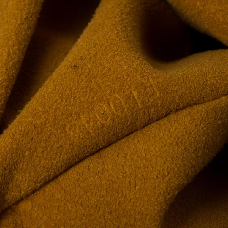 Louis Vuitton Black Monogram Denim Large Surya Hobo For Sale 2