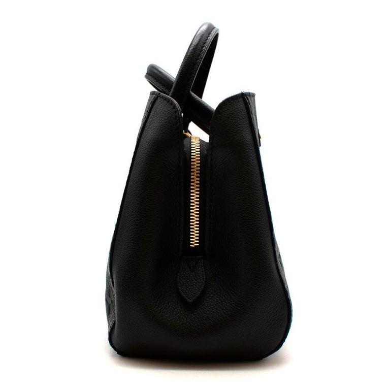 Women's or Men's Louis Vuitton Black Monogram Empreinte Montaigne BB Bag