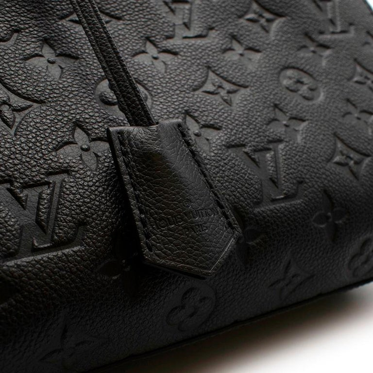 Louis Vuitton Black Monogram Empreinte Montaigne BB Bag 3