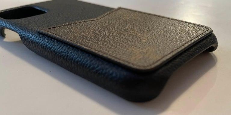Women's or Men's  Louis Vuitton Black/ Monogram iPhone 11 Pro Bumper Case rt. $450