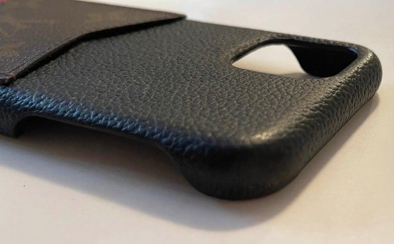 Louis Vuitton Black/ Monogram iPhone 11 Pro Bumper Case rt. $450 2