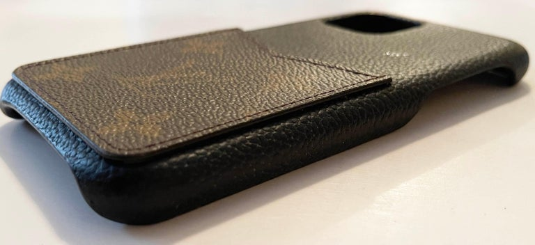 Louis Vuitton Black/ Monogram iPhone 11 Pro Bumper Case rt. $450 3