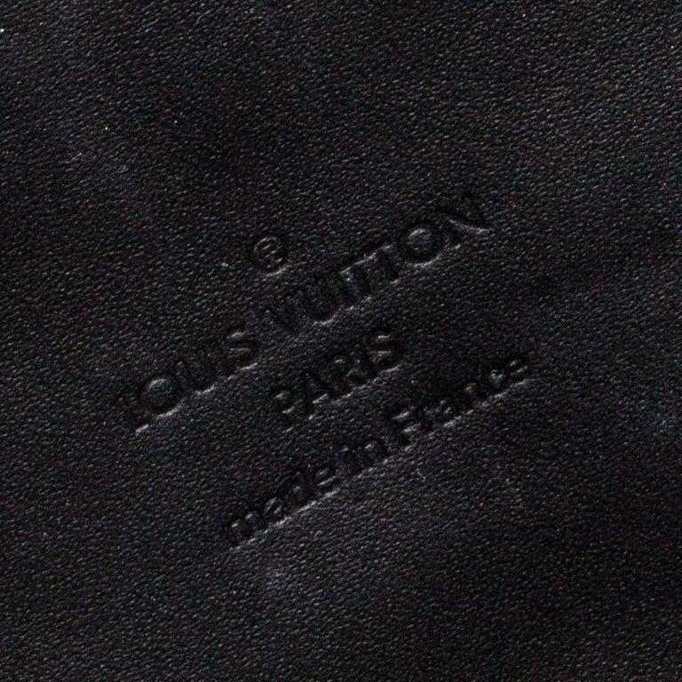 Louis Vuitton Black Monogram Vernis Rossmore MM Bag For Sale 6