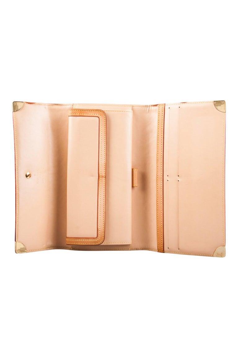 Women's Louis Vuitton Black Multicolor Monogram Canvas Porte Tresor International Wallet For Sale