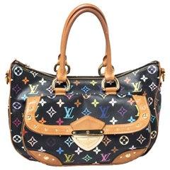 Louis Vuitton Black Multicolor Monogram Canvas Rita Bag