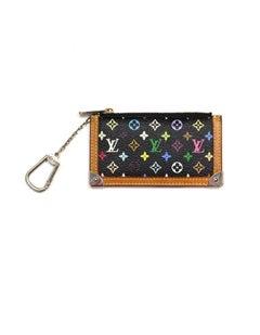 Louis Vuitton Black/Multicolore LV Monogram Key Chain Pouch/Coin Purse
