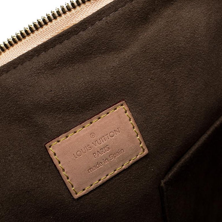 Louis Vuitton Black Multicolore Monogram Canvas Courtney GM Bag For Sale 2