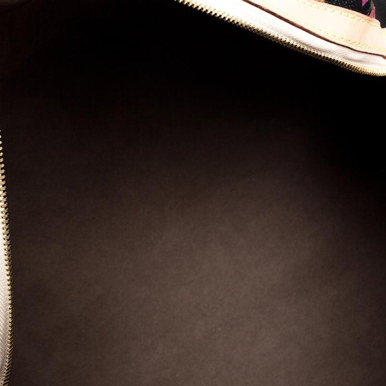 Louis Vuitton Black Multicolore Monogram Canvas Courtney GM Bag For Sale 5