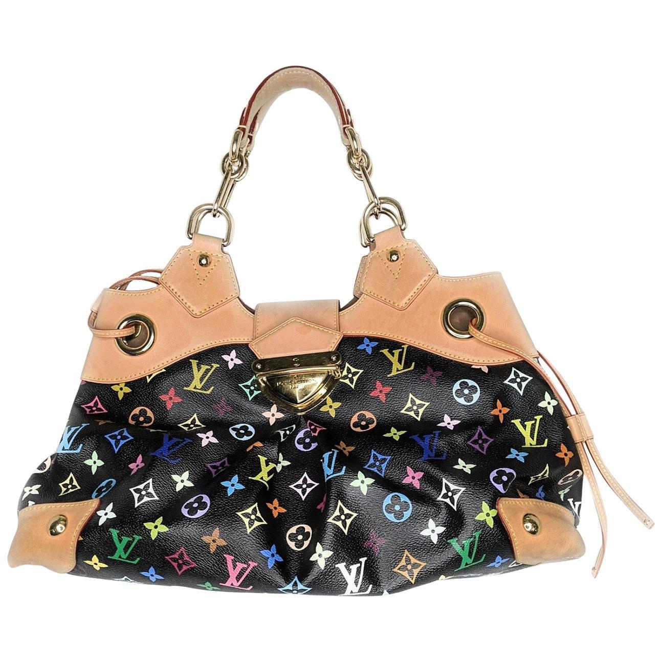 Louis Vuitton Black Multicolore Monogram Ursula Bag