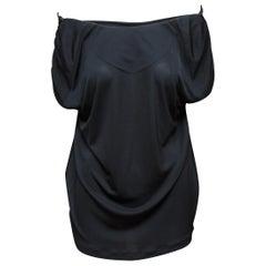 Louis Vuitton Black Off-The-Shoulder Top